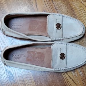 Coach Nicole driving Penny loafers